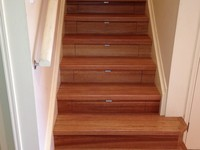 InStep Drawers are solid timber dovetailed drawers for new or existing staircases