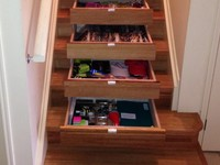 InStep Drawers can store your possessions safely